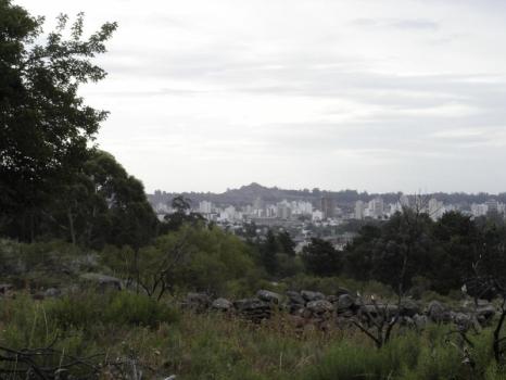 La ciudad desde las sierras